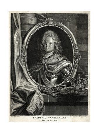 Friedrich Wilhelm I, Pen