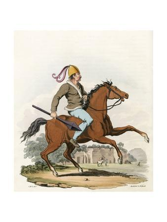 Mounted British Warrior