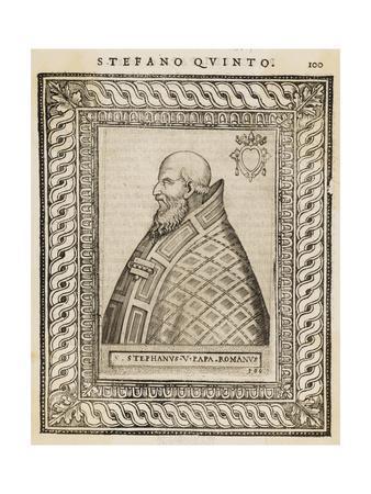 Pope Stephanus V