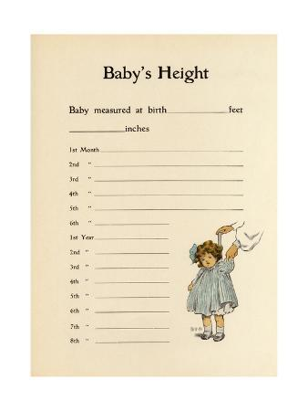 Baby's Height Record