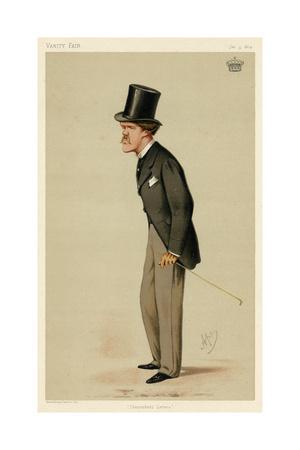 William Ulick O'Connor Cuffe, Vanity Fair