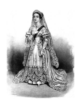 Queen Victoria as Bride