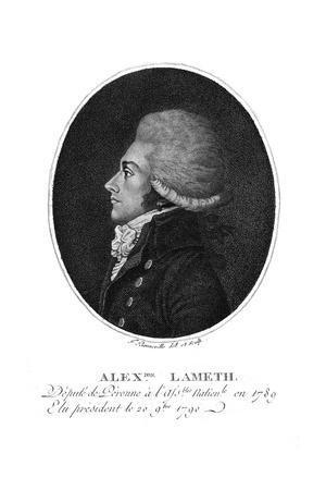 Alexander Comte de Lameth