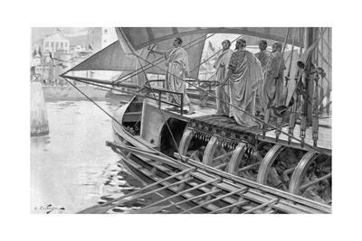 The Sacred Trireme Arrives at Tyre