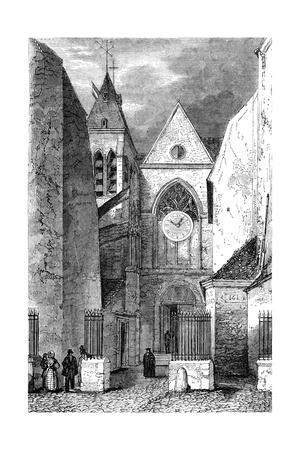 Paris, France - Eglise de Saint Laurent
