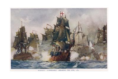 Naval Battle 1782
