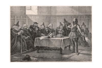Gustav Vasa Persuading the Elders of Lubeck