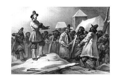 Gustav Vasa Rousing His Countrymen Against the Danes