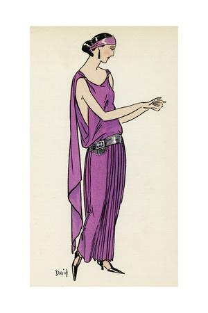 Greek Style Dress 1922