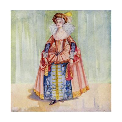 English Woman 1610