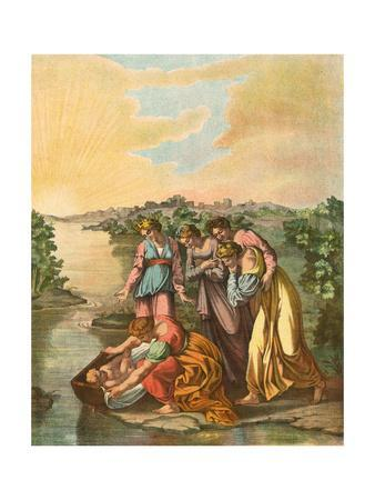 Moses Found in the Nile