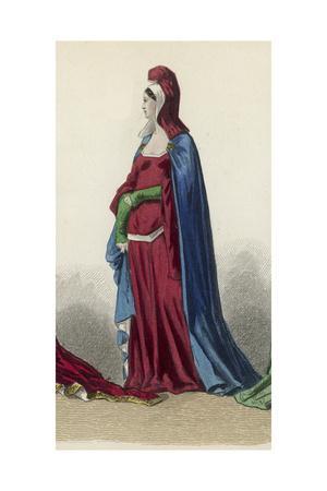 Woman Circa 1370