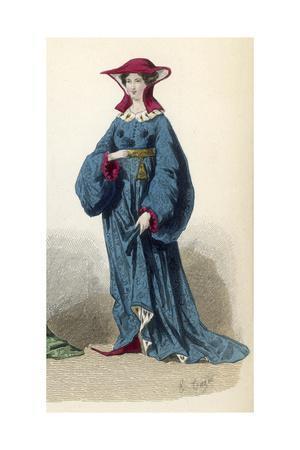 Woman Circa 1390