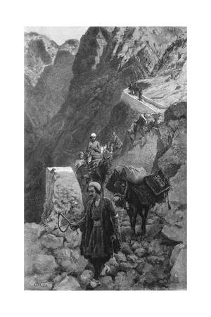 Crossing the Kotal Mountains, Iran