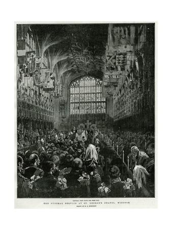 Queen Victoria's Funeral Service