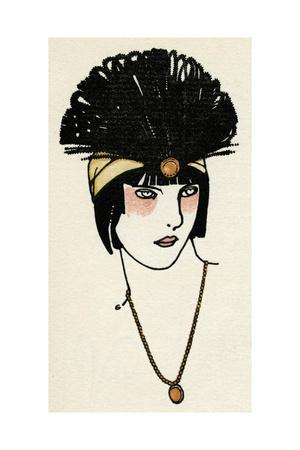 Flapper Headpiece 1912