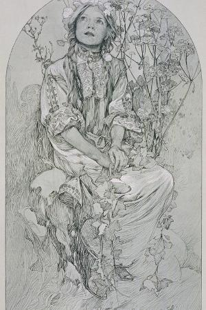Plate 8 from 'Figures Decoratives', 1902