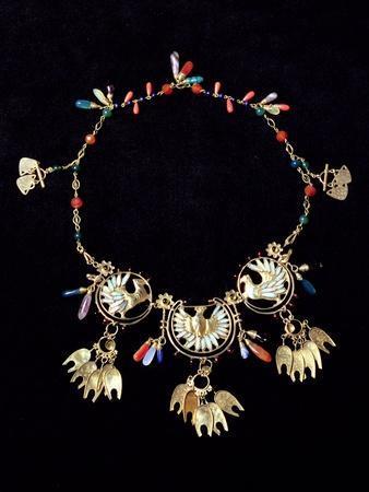 Mrs Mucha's Necklace, 1906