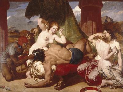Samson Betrayed, 1850