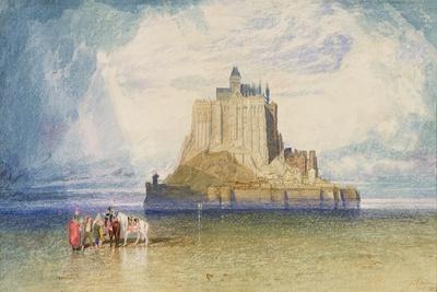 Mont St. Michel, 1828