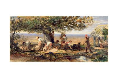 The Sheepshearers, C.1863