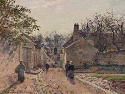 A Village Street, Louveciennes, 1871
