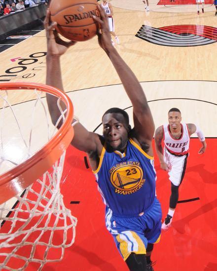 Blazers Portland Posters: Golden State Warriors V Portland Trail Blazers Photo By