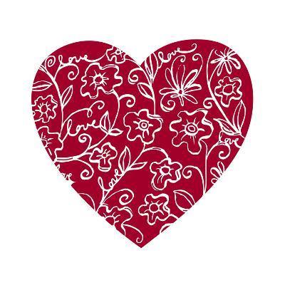 Japanese Flower Heart