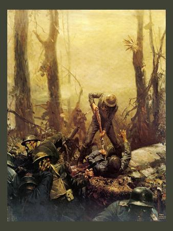 Mural Forest Marines