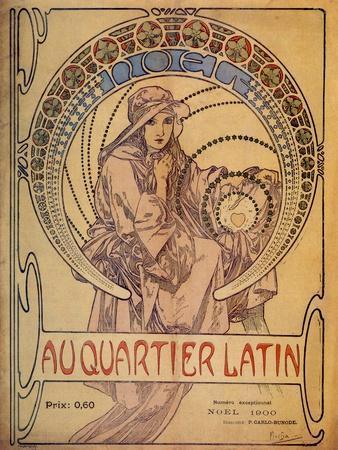 Mucha Quarter Latin