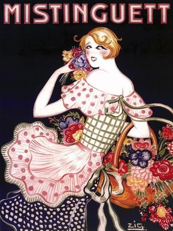 Mistinguett Checked