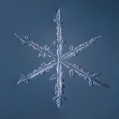 Simple Star Snowflake