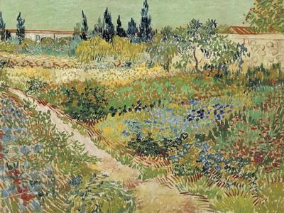 Van Gogh, Bluhender Garten