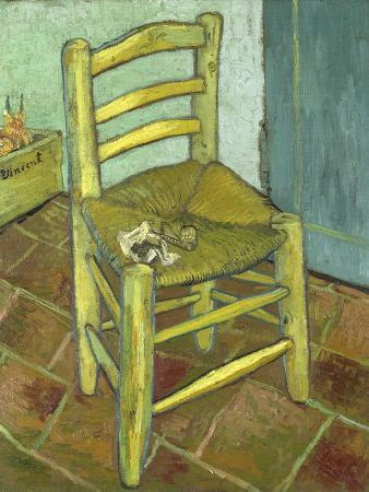 Van Gogh, Vincents Chair with His Pipe