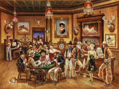 modern western decor.htm western saloon  giclee print lee dubin allposters com  western saloon  giclee print lee