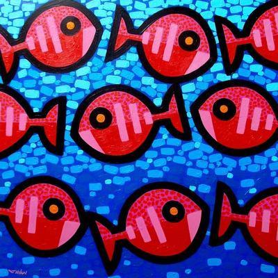9 Happy Fish