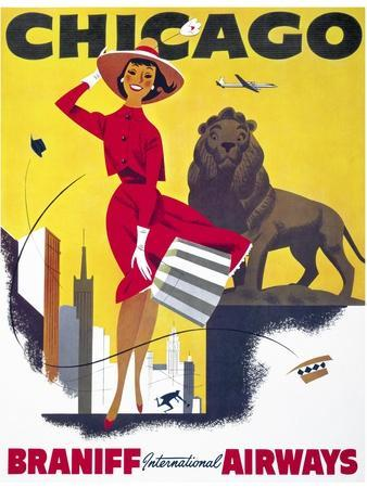 Chicago, Braniff International Airways