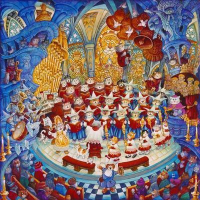Holy Cats Meow-A-Lujah Chorus