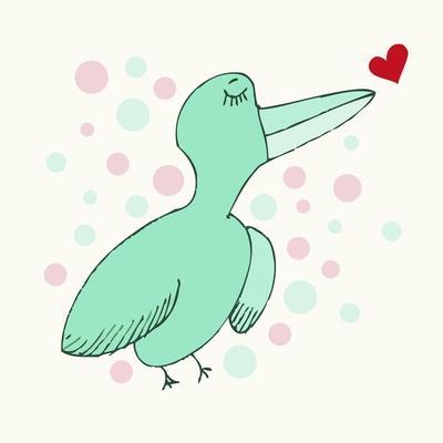 Dreamy Love Bird
