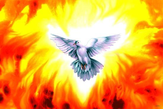 holy spirit fire giclee print by spencer williams at allposters com