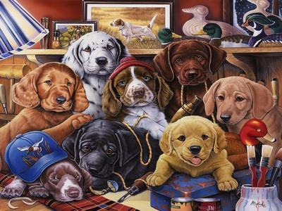 Grandpa's Puppies