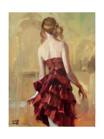 Girl in a Copper Dress 2