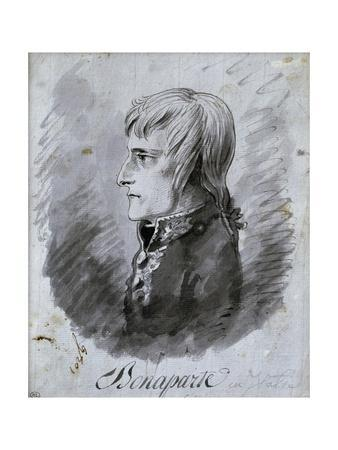 Portrait of Napoleon Bonaparte, General of the Army in Italy by Antoine-Jean Gros