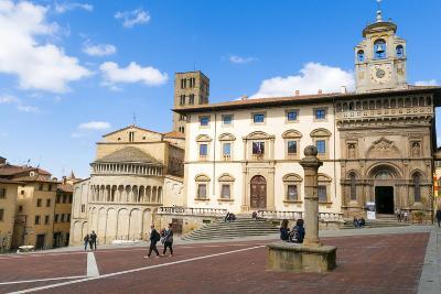 The Building of Fraternita Dei Laici and Church of Santa Maria Della Pieve