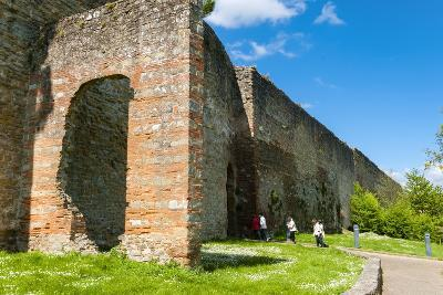 City Ramparts (Medicean Walls) Dating from the 14th Century, Porta Stufi, Arezzo
