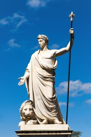 Statue of Ferdinando Iii Duke of Lorraine, Piaggia Del Murello, Arezzo, Tuscany, Italy, Europe