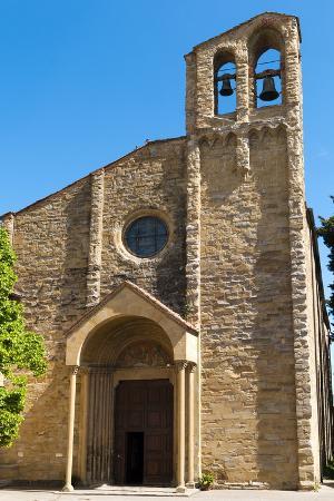 San Domenico Church Dating from the 14th Century, Arezzo, Tuscany, Italy, Europe