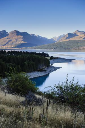 Lake Pukaki, Mount Cook National Park, South Island, New Zealand, Pacific