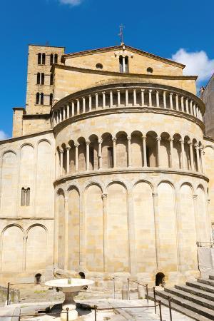 The Apse, Church of Santa Maria Della Pieve, Arezzo, Tuscany, Italy, Europe
