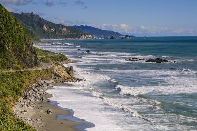 The Untouched West Coast of South Island Between Greymouth and Westport, West Coast, South Island